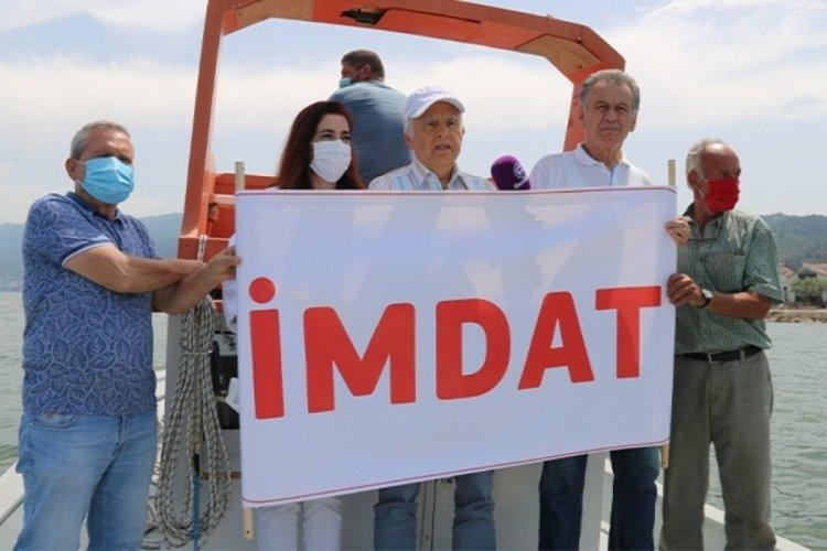 CHP 23'üncü Dönem Bursa Milletvekili Demirel: Marmara Denizi 'imdat' diyor
