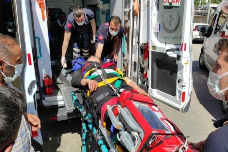Feci kazada 6 kişi yaralandı, koyunlar telef oldu