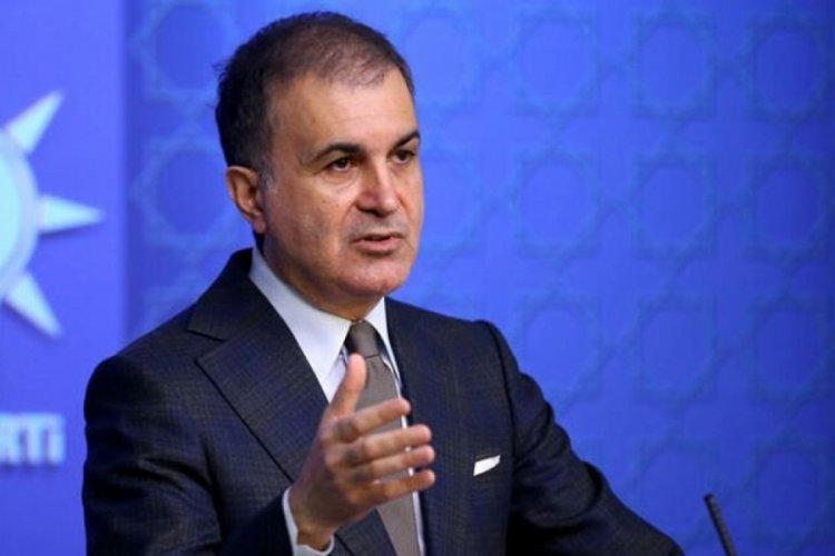 Ömer Çelik'ten Sedat Peker'in iddialarına ilişkin açıklama