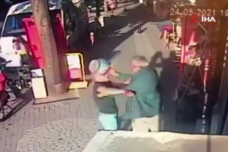 Saldırdığı kişi piknik tüpüyle kafasına vurdu