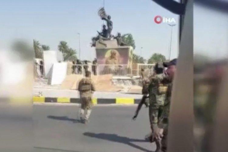 Irak'ta Haşdi Şabi güçleri Yeşil Bölge'yi bastı