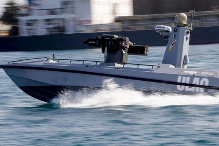 Türkiye'nin ilk silahlı insansız deniz aracı füze atmaya hazır