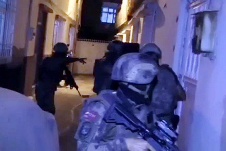 Gaziantep'te torbacı operasyonu: 13 gözaltı