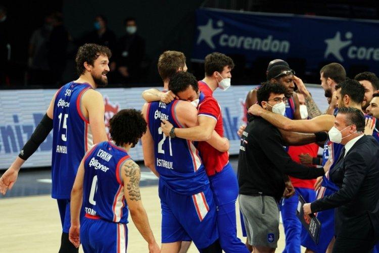 Anadolu Efes final için CSKA Moskova ile karşılaşacak