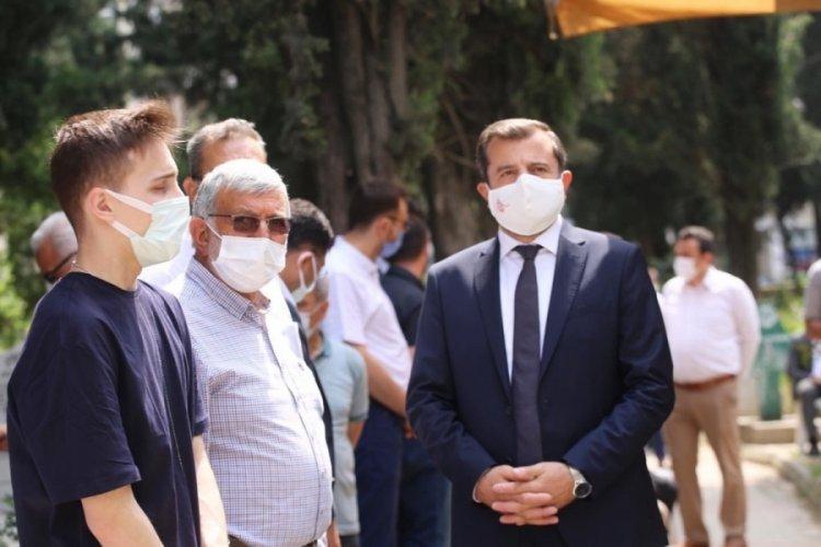 Bursa Gürsu'nun Şehit Belediye Başkanı Cüneyt Yıldız anıldı