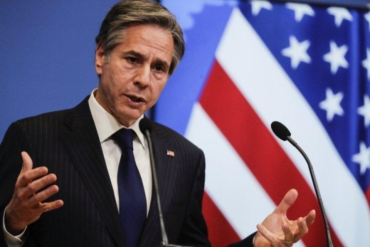 ABD Dışişleri Bakanı Blinken, NATO Genel Sekreteri Stoltenberg ile telefonda görüştü