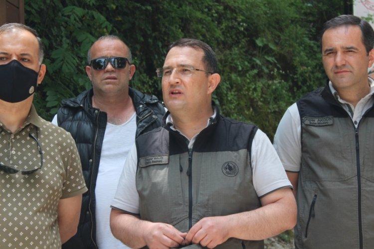 Bursa'da Oylat Şelalesi Ekoturizm Parkuru açıldı