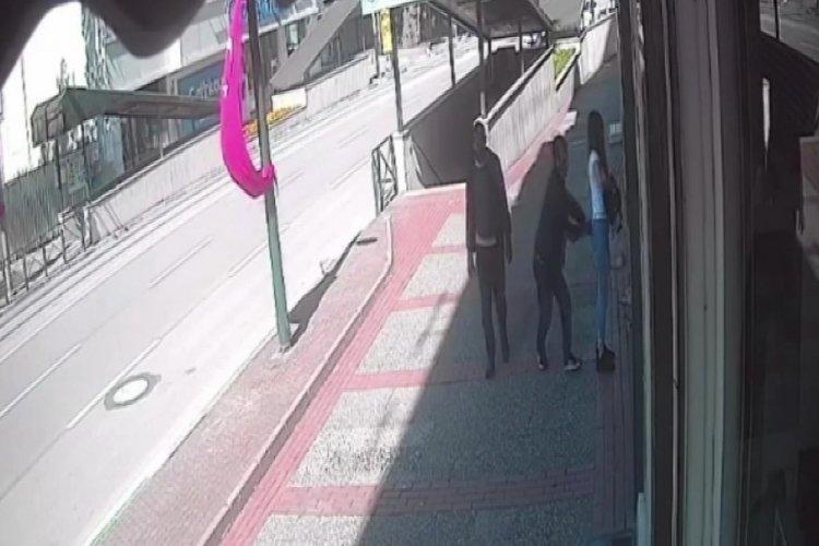 Bursa'da genç kızın cebindeki telefonu çalan kapkaççı tutuklandı