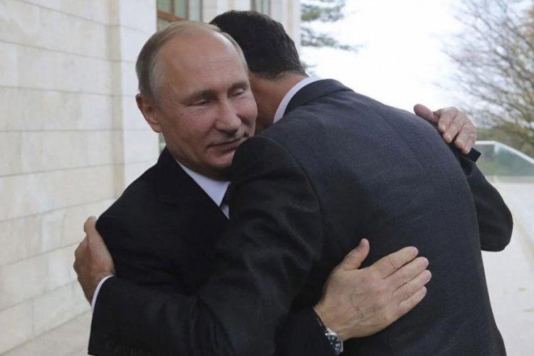 Suriye'de seçimi kazanan Esad'a tepki yağarken, Putin'den tebrik geldi