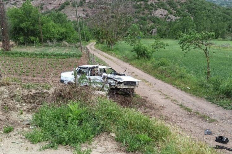 Tokat'ta iki otomobil çarpıştı: 1 ölü, 4 yaralı