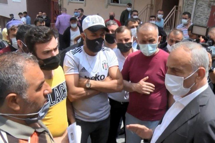 Tahliye gerginliği: Belediye başkanı müdahale etti