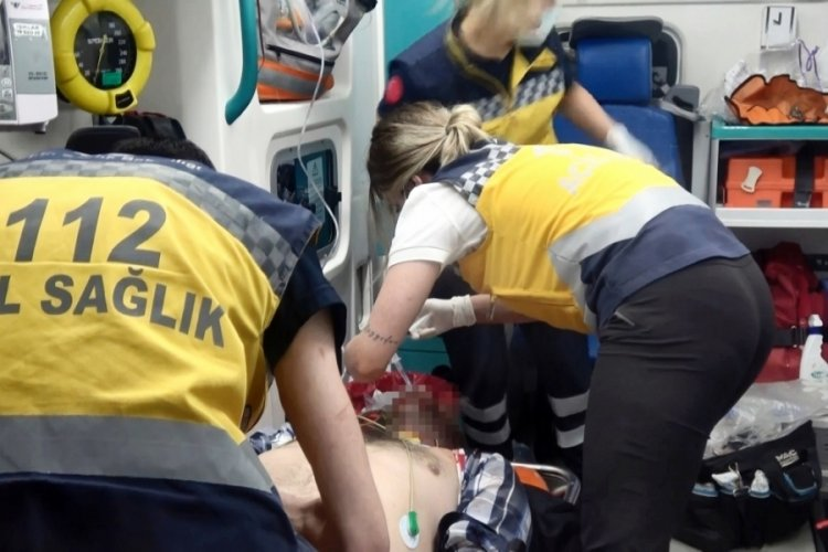 Bursa'da komşuların güvercin pazarlığı kanlı bitti, 1 ağır yaralı
