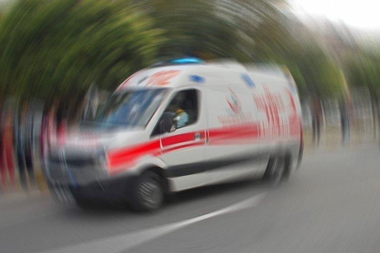 Bursa Gemlik'teki trafik kazasında 1 kişi yaralandı