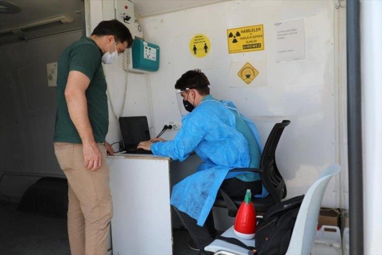 Bursa İnegöl Belediyesi personeli sağlık taramasından geçti