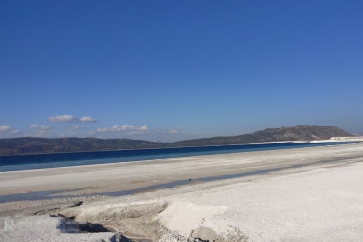 Salda Gölü'nün son görüntüsüyle ilgili açıklama yapıldı