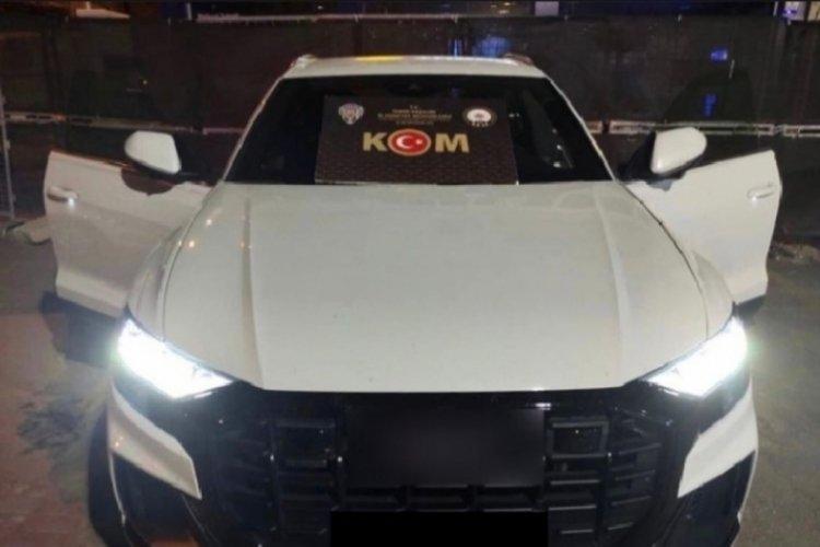 2 milyon TL'lik gümrük kaçağı 'otomobil' ele geçirildi