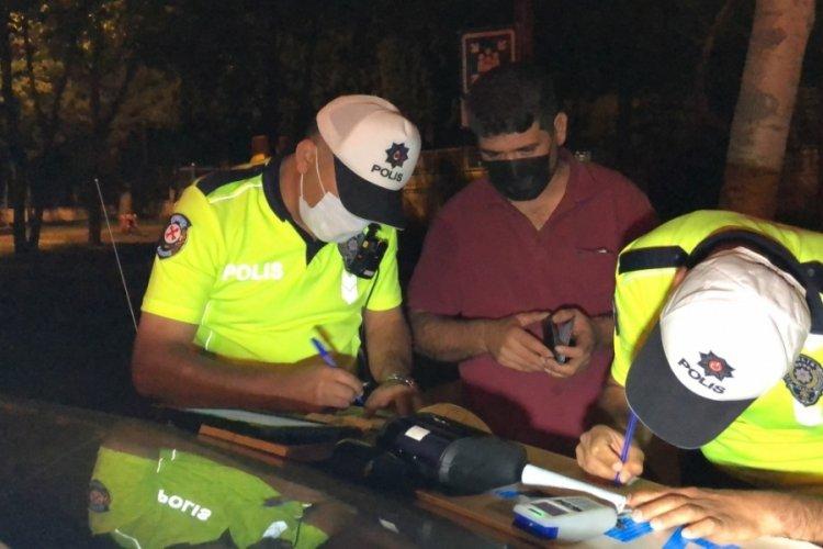 1.89 promil alkollü yakalanan şahıs: Ağabey 2 bira içtim
