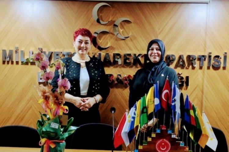 MHP Bursa Kadın Kolları Başkanı Duzcu: Türk kadını, Türk milliyetçisidir