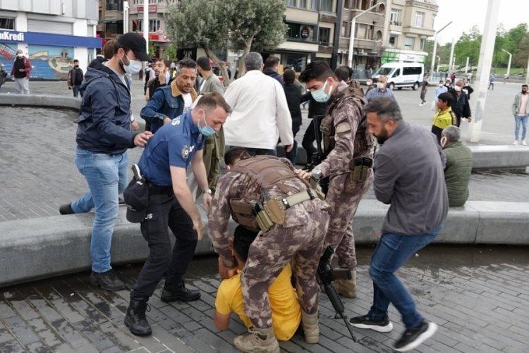 Kemerli kavgaya Özel Harekat müdahale etti: 6 gözaltı