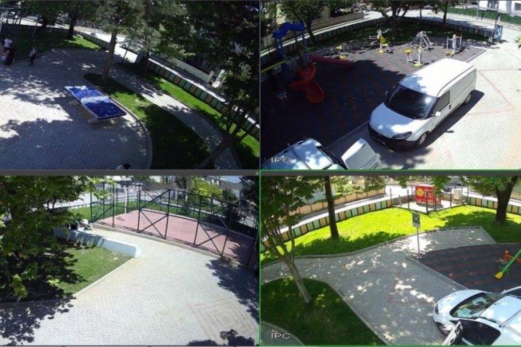 Bursa Kestel'de 237'inci güvenlik kamerası devreye girdi