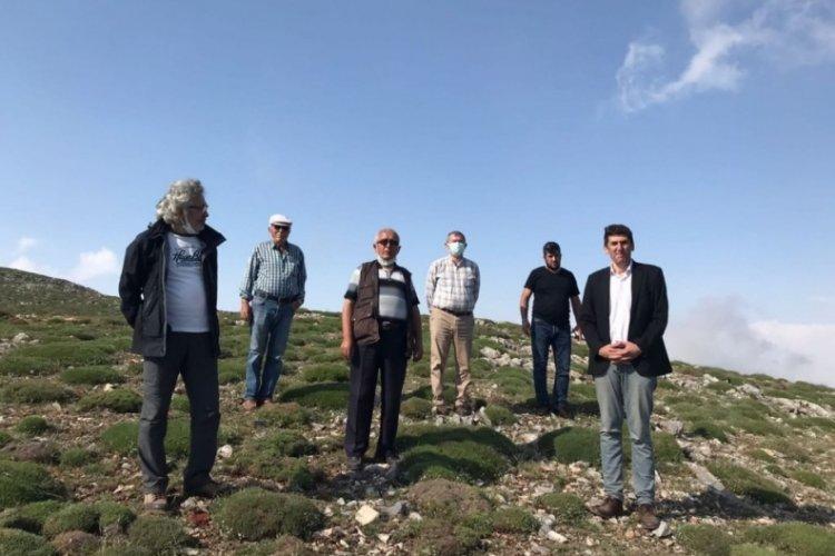Bursa'da köylülerden mermer ocağı isyanı