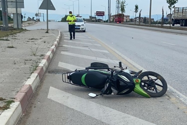 Bursa'da anne ve oğlu motosiklet kazasında metrelerce sürüklendiler