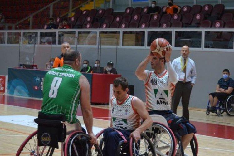 Tekerlekli Sandalye Basketbol Süper Ligi'nde 3. etap müsabakaları başladı