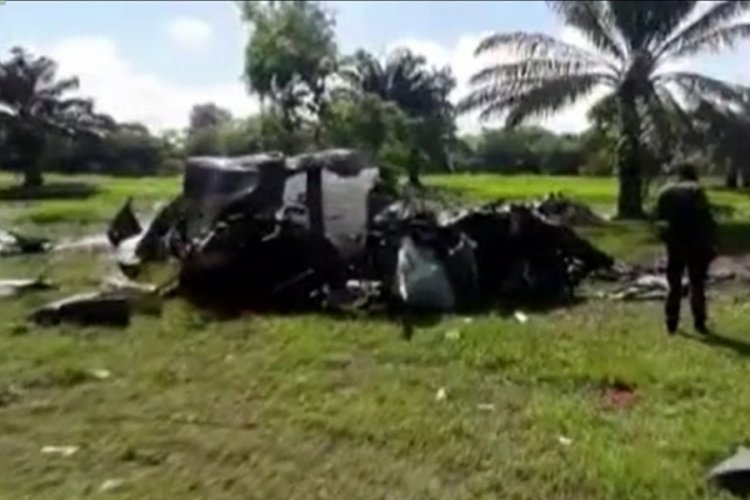 Kolombiya'da helikopter kazasında 5 narkotik polisi öldü