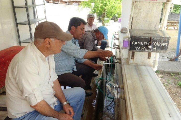 Bursa'daki bu mahallenin suyu şeker hastalarına şifa dağıtıyor