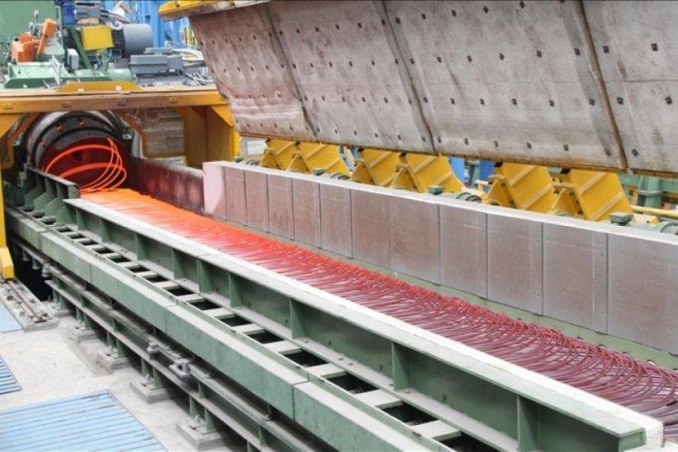 Türkiye'nin ham çelik üretimi nisanda 3,3 milyon tona ulaştı
