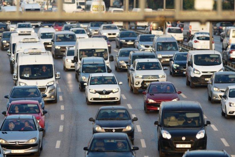 Bursa Çevre Otoyolunda trafik düzenlemesi