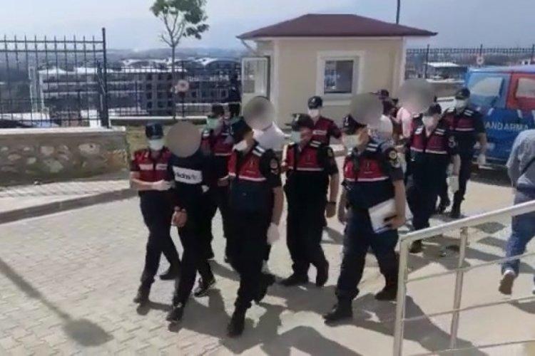 Bursa'da jandarmadan zehir tacirlerine suçüstü! 5 kişi tutuklandı
