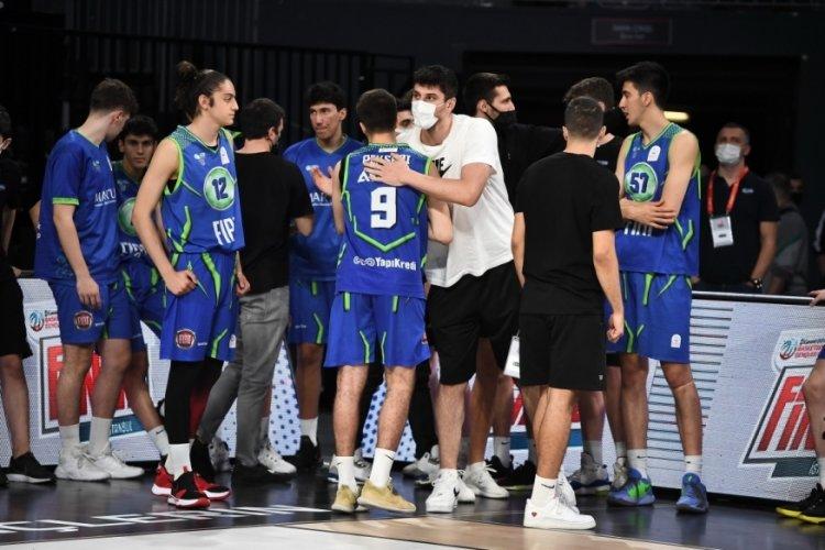 Basketbol Gençler Ligi'nde sezonun ikincisi TOFAŞ oldu