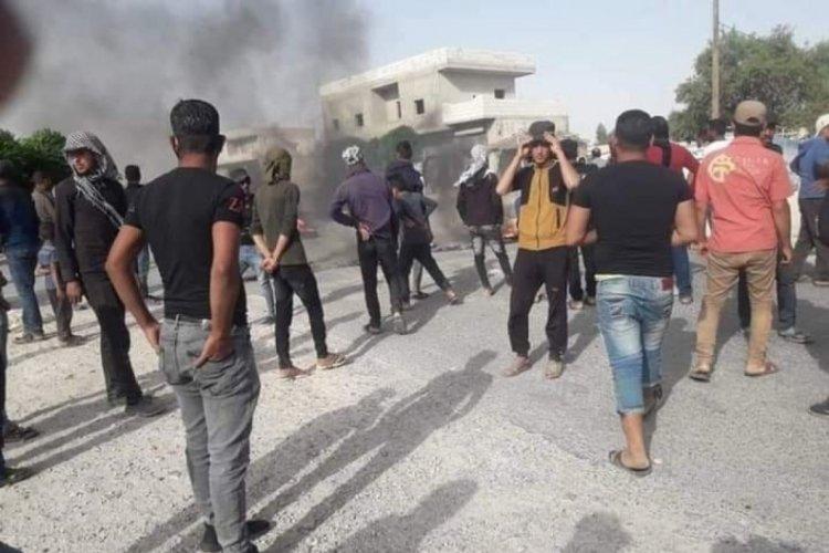Münbiç'te PKK'lı teröristler sivillere ateş açtı