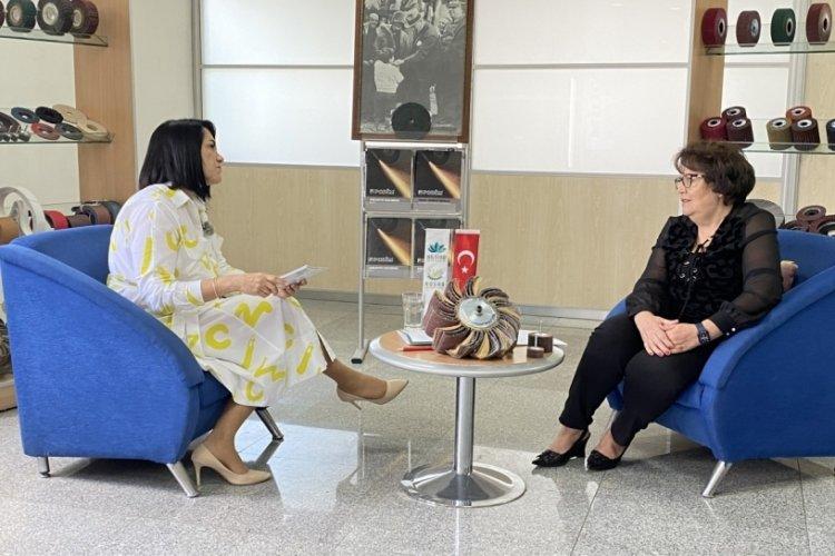 """Bursa'da Değerler Buluşuyor Tecrübe Konuşuyor"""" söyleşilerinin konuğu Gülşen Şentürk oldu"""
