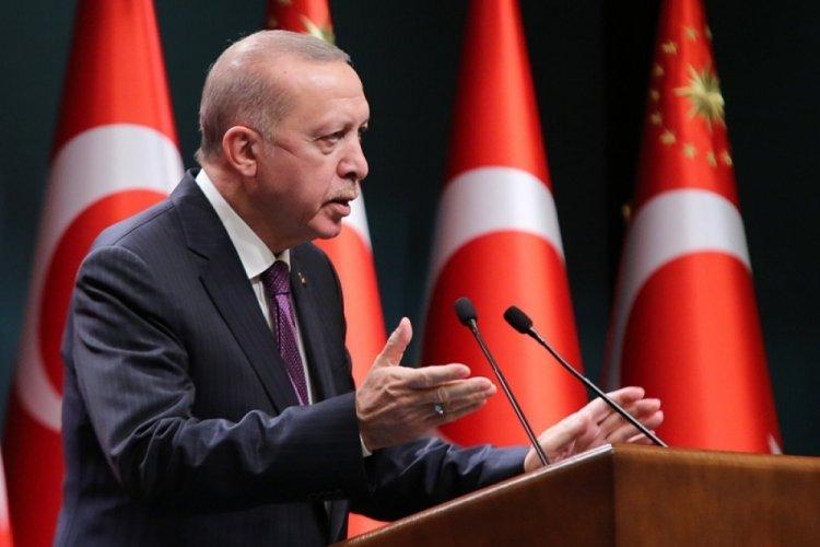 Cumhurbaşkanı Erdoğan'dan Tuba Durgut'a tebrik