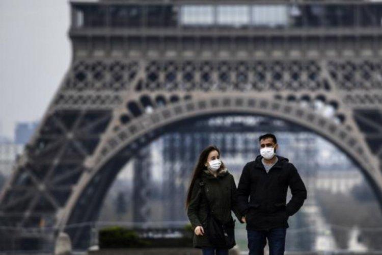 Fransa'da son 24 saatte 9 bin 848 vaka