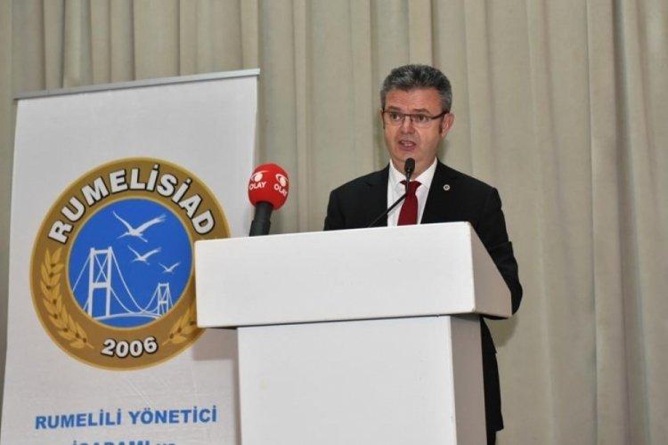 """Bursa RUMELİSİAD Başkanı Zarif Alp: """"İlk çeyrek verileri gelecek adına umut verici"""""""
