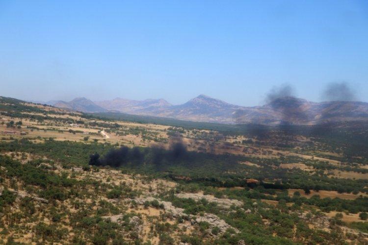 Diyarbakır'da 2,5 milyon kök kenevir imha edildi