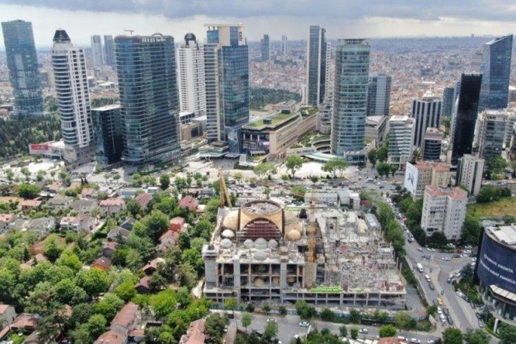Barbaros Hayrettin Paşa Cami'nin yüzde 75'i tamamlandı