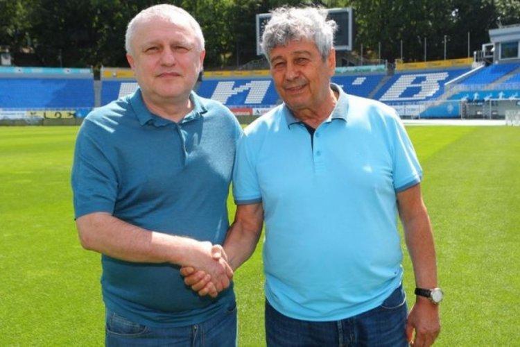 Mirceal Lucescu, Dinamo Kiev'de kaldı