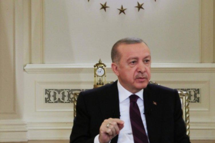 Cumhurbaşkanı Erdoğan'ın katıldığı yayında saat detayı