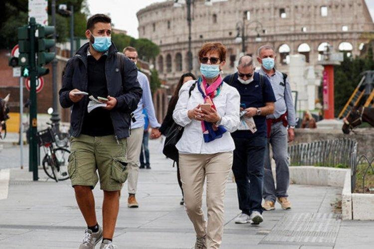 İtalya'da 2 bin 897 yeni vaka
