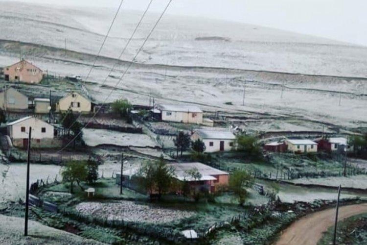 Karadeniz'de kar sürprizi