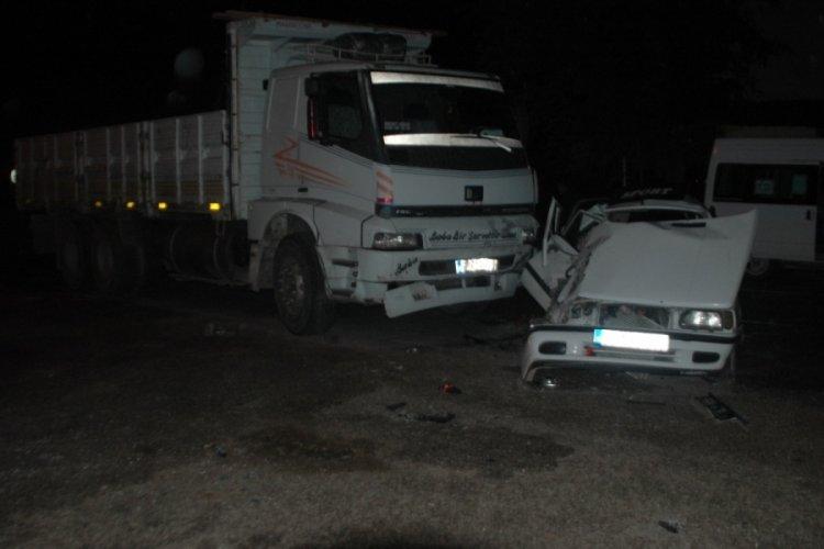 Kahramanmaraş'ta ölümlü kaza