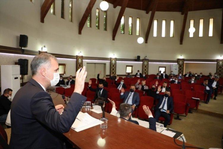Bursa İnegöl'de haziran ayı meclis toplantısı yapıldı