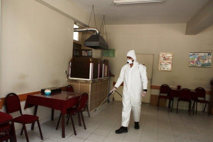 Bursa'da normalleşme adımlarına dezenfeksiyon desteği