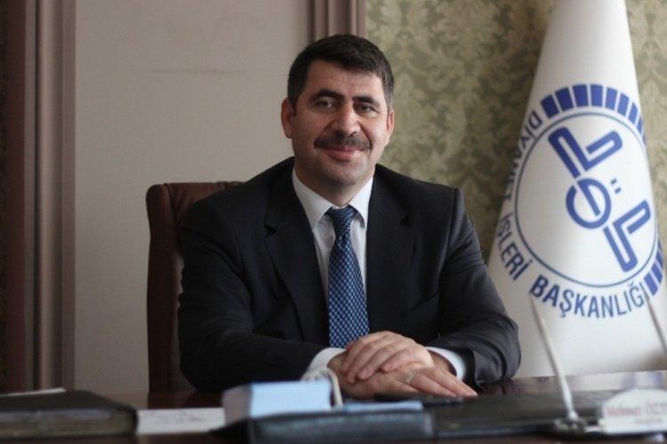 Bursa Nilüfer'in müftüsü Mehmet Öztürk veda ediyor