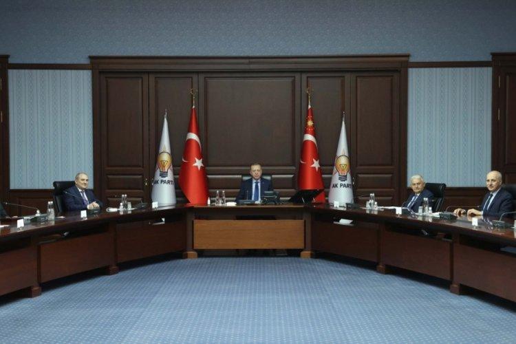 Erdoğan, Yeni Azerbaycan Partisi heyetini kabul etti