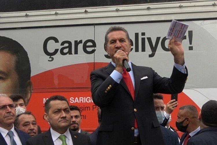 Sarıgül: ABD Türkiye'deki hangi muhalefet partilere para gönderiyor?